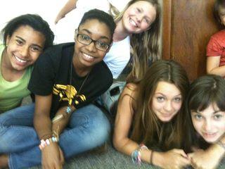 Galen, Kyra, Katie, Gillian and Emma