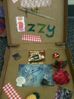 Izzy's suitcase