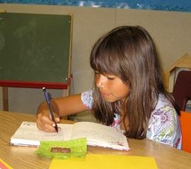 TMWFI creative writing student