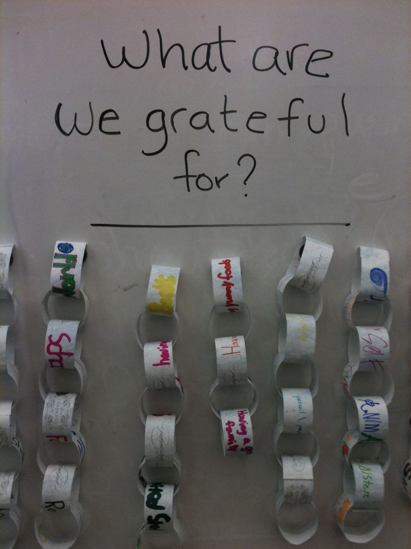 Chabor Gratitude Chains