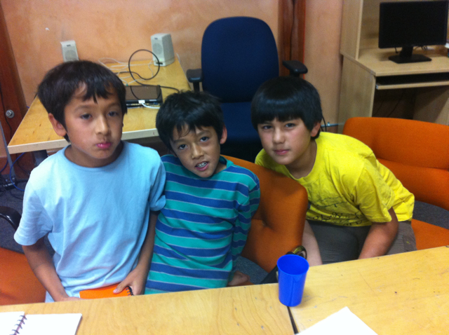Diego, Lucas and Dante